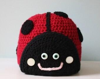 Lovely Little Ladybug Hat