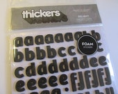 """Delight - Thickers Foam Stickers 6""""X11"""" Sheet - American Crafts"""