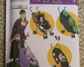 Simplicity 3612 Toddlers costumes and stroller decorations size 1/2-1-2-3-4
