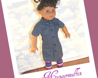 Striped tights or leggings fits American Girl dolls