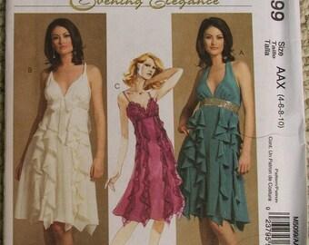 McCall's Pattern M5099 Evening Elegance Dresses Size 4-6-8-10