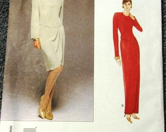 Tom and Linda Platt Vogue Dress Pattern 1708 size 6-8-10 OOP