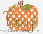 Personalized Pumpkin Shirt, Monogrammed Pumpkin Shirt, Girls Thanksgiving Shirt, Girls Halloween Shirt, Custom Pumpkin Shirt, Thanksgiving