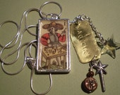 Custom Tarot Card Pendant - You Choose your favorite Tarot Card