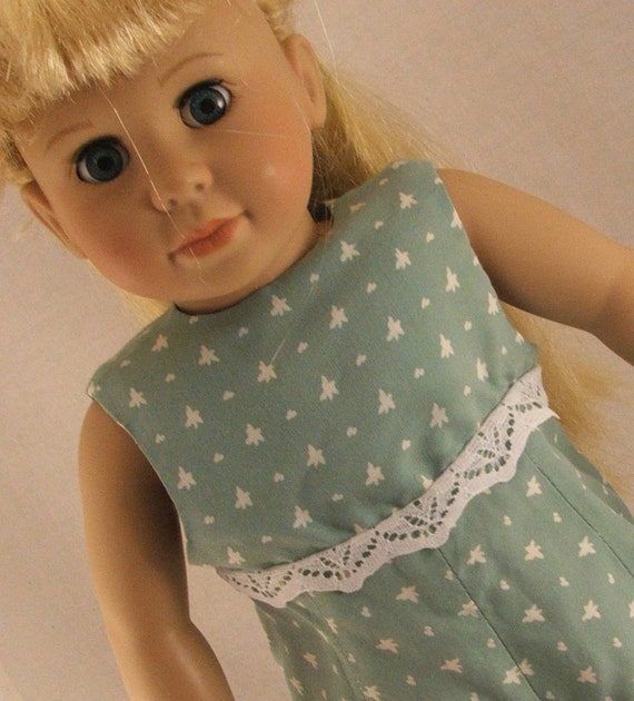 Green Jumpsuit fits American Girl and other 18 inch dolls