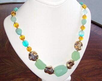 Ocean Breeze Turquoise Necklace