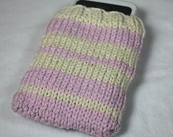 Cream & Lavender IPhone/IPod Sweater
