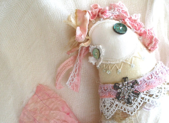Plush, Muriel Liwet Angel of the Heart, Ready to Ship