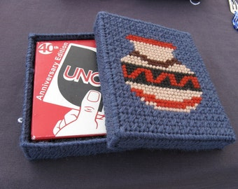 Uno Case with Game-In Slate Blue