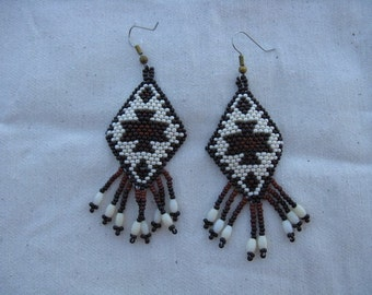 Navajo Rug Design-Earthtones