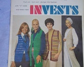Invests Pattern Leaflet by Columbia-Minerva Womens Vests Patterns