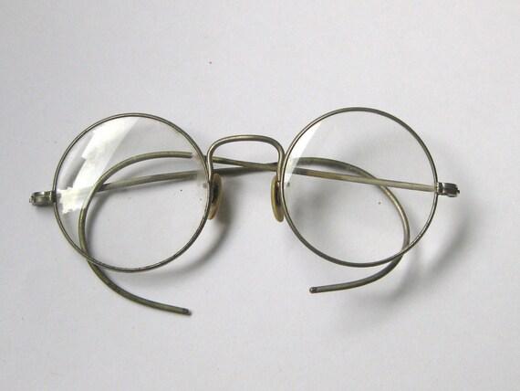 antique silver eyeglasses