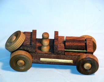 Hand Made Wooden Roadster