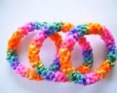 Custom Listing for Lisa 5 sets of Knitted Bangel Bracelets
