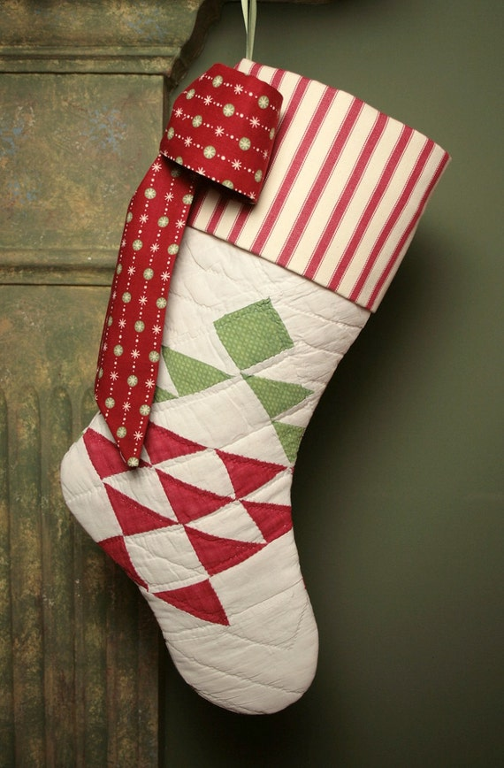 Red And Green Antique 1800s Quilt Christmas By Christmasislove