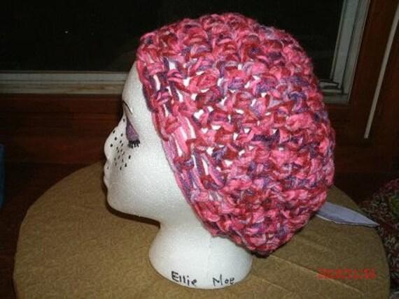 Breast Cancer Pink Beret