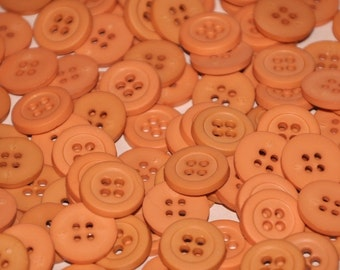 Buttons, Plastic buttons  5/8 inch