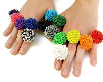 PDF Tutorial - Duct Tape Rose Rings - 4th Edition with Color Photos