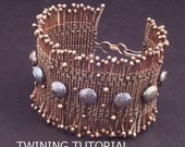 Twining With Wire Lesson Jewelry Tutorial