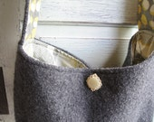Upcycled Wool Shoulder