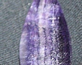 PIF Free shipping Amethyst Bead Cab tear drop