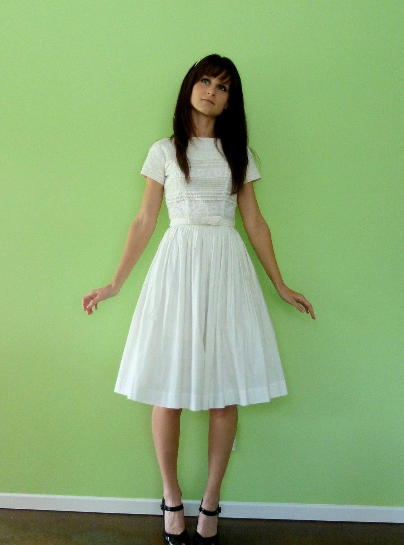 Full White Skirt