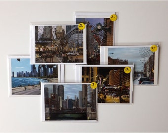 Fine Art Chicago Note Cards Variety Pack of 30