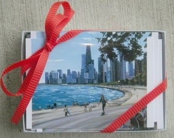 Chicago Cityscape Notecards - Box of 30