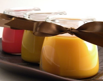 Autumn Thanksgiving Trio Soy Candle 3 for 27 dollars