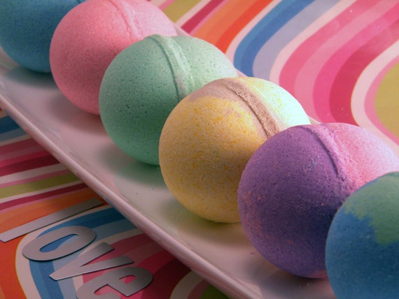 Bath Bomb Special 6 Pack You Pick The Scent 5 oz