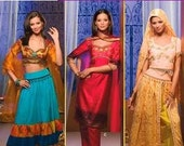 Womens Bollywood Costume Pattern - Simplicity 4249