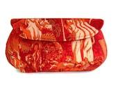 Alfred Shaheen - Luau. Clutch Purse, Handbag, Evening Bag. Handmade in Hawaii.