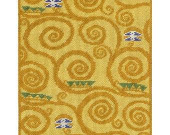 Swirls of Expectation - Instant Download - Cross Stitch Pattern PDF