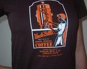 Uncle Bill's coffee shirt (women) small, medium, large, xl