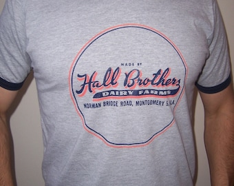 Hall Brothers Dairy Farms shirt (men) small, medium, large, xl, 2xl
