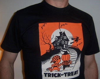 trick or treat shirt (men) small, medium, large, xl, 2xl, 3XL