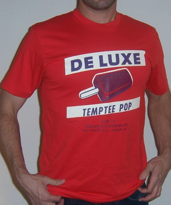 De Luxe Ice Cream shirt (men) small, medium, large, xl, 2xl