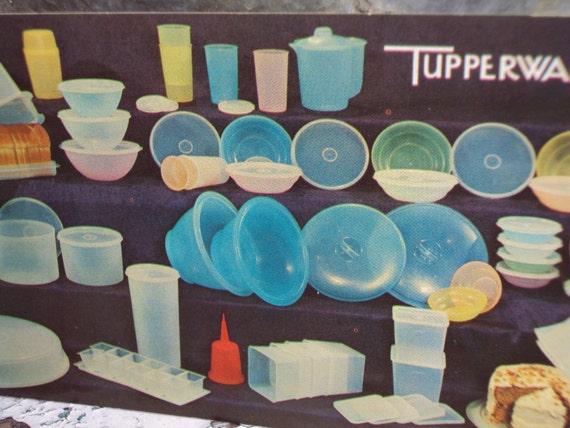 Vintage Tupperware Party Invitation Post Card VINTAGE – Tupperware Party Invitation