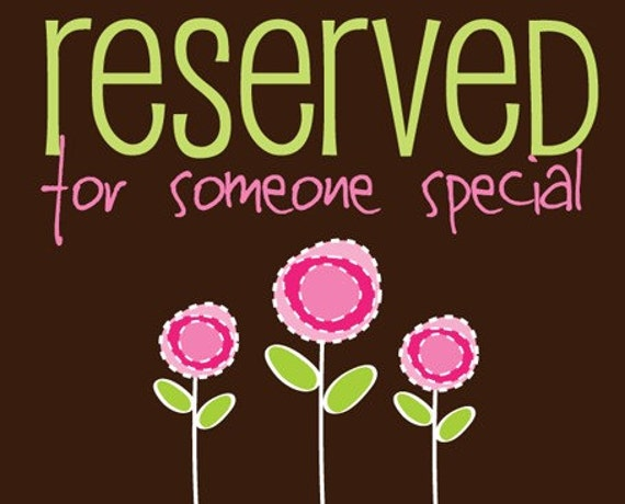 Reserved Listing for Kendra