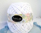 One Kilogram of Snow White Fabric Yarn
