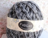 One Kilogram of Patterned Grey  Yarn - GReat Supply for Rugs and Bags