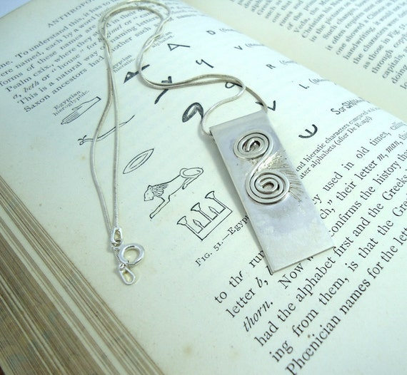 Sterling Silver Pendant Necklace Hallmarked Mens Jewelry