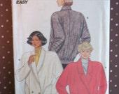 Vintage 1980s Sewing Pattern - Butterick 4120 - Misses' Jacket (Size 14-16-18)