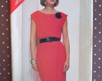 Vintage 1980s Sewing Pattern - Butterick 5490 - Misses' Top And Skirt (Size 12-14-16) - Sewing Supplies
