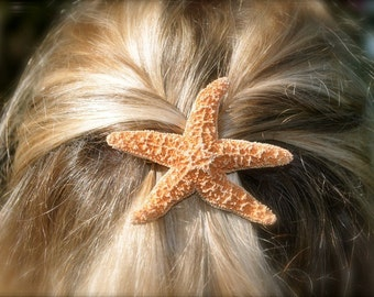 Starfish Hair Accessories,Starfish Hair,Beach Wedding,Mermaid Hair Clip,Destination Weddings,Beach Hair Clip,Beach Hair,Mermaid Party Favors