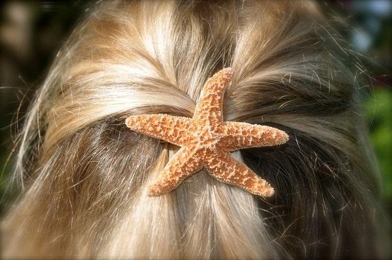 Sugar Starfish Barrette