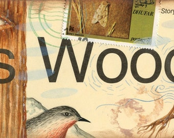 Ms Wood Postcard