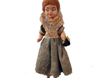 Costume doll - vintage Mallorcan souvenir