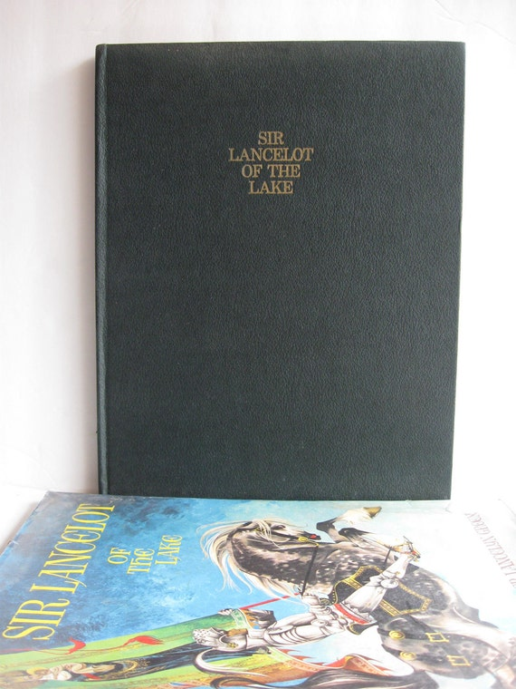 Sir Lancelot of the Lake by Roger Lancelyn Green RARE Illustrated by Janet and Anne Grahame Johnstone