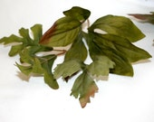 2 Gallon Bag of Mixed Green Foilage - Artificial Flowers, Leaves